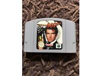 Nintendo 64 goldeneye game. Classic n64 game