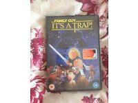 Family guy it's a trap dvd star wars parody