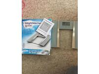 Weight watchers weighing scales