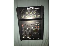 Alto zmx 52 mixer mixing desk