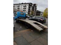 Isuzu recovery truck flat bed truck car transporter truck car pick up tow truck ready for work cheap