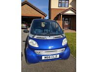 Mercedes Smart Pulse Softouch 2002 blue/silver