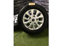 """16"""" Genuine Ford Transit Custom Sport Alloy Wheels Alloys LWB SWB MWB MK9 MK8 MK7 MK6"""