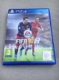 PS 4 FIFA 16 Game