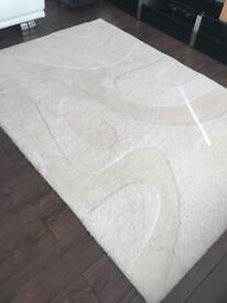 Beautiful next Cream rug