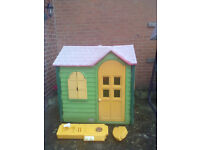Little Tikes/Tykes Evergreen Country Cottage Playhouse - Roundhay Park LEEDS 8 - Can Deliver