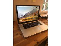Apple MacBook Pro 2ghz i7 Quad Core, 4gb Ram, 500gb Hard Drive