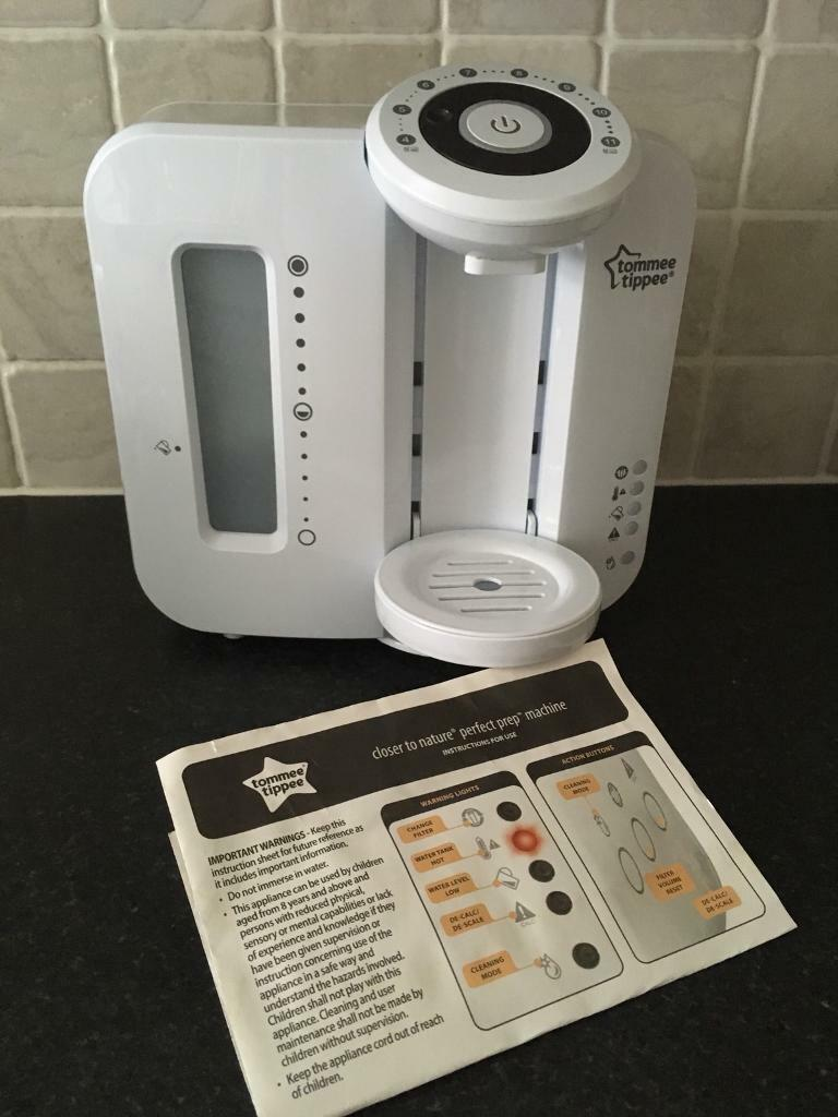 Tommee Tippee Perfect Prep Machine With Instructions In Riddrie