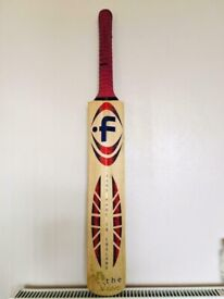 English willow cricket bat,quick sale at only £85,more cricket bats available,ring for details