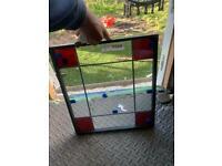 Double glazed decorative glass