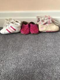 Girls Shoe Bundle Size 3