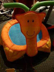 ELC giraffe trampoline
