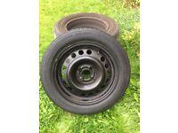 Car wheel.. 185/60 R 15 came off Vauxhall Mariva