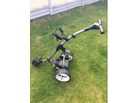 Motocaddy s3 digital golf trolley + extras