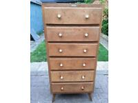 Ideal upcycle project chest of drawers