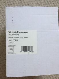 Victoria Plum 90mm slimline shower waste
