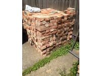 1200-1300 reclaimed Red Stock Bricks from Chimney Stack