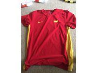 Nike Spain Davis Cup Tennis Shirt