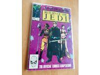 Star Wars Return of the Jedi Original American Marvel Comics