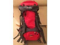 Berghaus Backpack. W 45 +8 Verden. Biofit. Used once