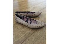 Irregular choice size 4 flat shoes