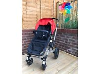 Bugaboo Cameleon Cam 3 Buggy and Carry cot Pram