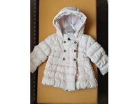 Next Baby Girl Coat 9-12 months