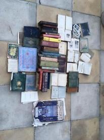 Antique and vintage rare books
