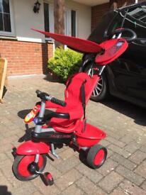 Original Smart Trike with Sun Visor & Handle