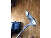 Slazenger golf clubs with Dunlop driver and bag