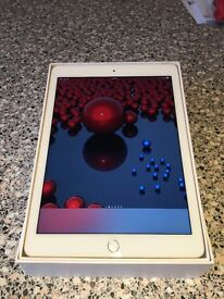 Apple iPad Air 2 64gb wifi and cellular unlocked gold