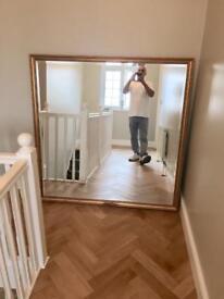 Large Gilt Mirror 1.4Meter x 1.4Meter