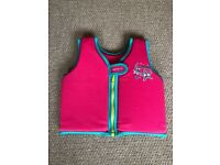 Speedo Sea Squad Float Vest Pink, 1-2 Years, up to 15 kg