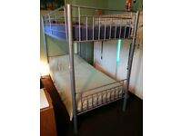 Bunk Bed with 2 mattress