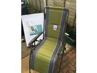 Garden recliner chairs x 3 as new Stalham area