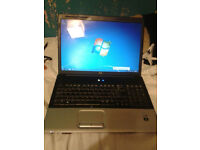 HP G70 17-inch Laptop PC. Intel Pentium Core 2 Duo , 3GB RAM, 230GB HDD. Windows 7