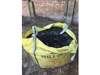 Free tonne bag of bark