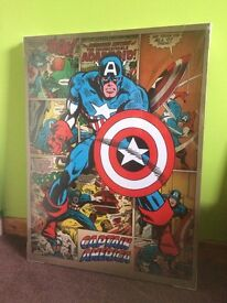 2x large Marvel Pictures *Can be individual*
