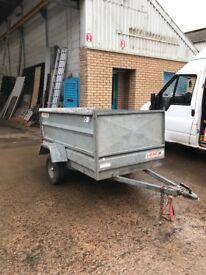 Logic trailer 2mx1.2m drop down back door good trailer ready for work
