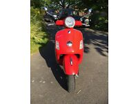Vespa GTS125 2007 ONLY ON ROAD FOR ONE YEAR