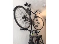 Bike Rack - bicycle column rack, ideal for storing up to 3 bikes where space is tight