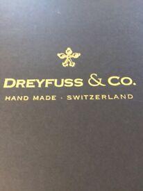 Ladies Dreyfus wrist watch complete with presentation box