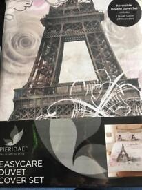 Easy care duvet cover set Paris