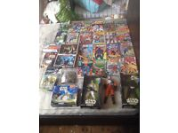 Starwars dc marvel other vintage toys and comics