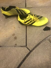 Adidas incurza size 9 rugby boots