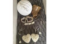 Small wedding decor bundle