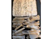 Gladwin Ltd Sheffield Silver Cutlery Set