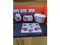 Kettle toaster breadbin and worktop saver