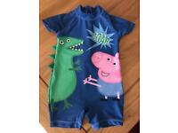George Pig Boys Swim Suit