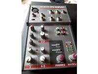 Small phonic mixer
